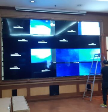 Project Video Wall Kementrian Pertahanan